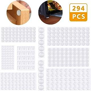 Lagrimas Silicona,Emooqi 294 Piezas Pies de Goma