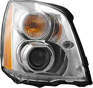 Aftermarket Replacement HID Headlight Passenger Side Compatible with 06-11 DTS 20861481