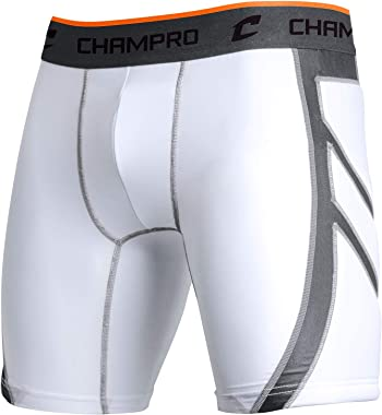 CHAMPRO Mens Wind-Up Compression Baseball Sliding Short