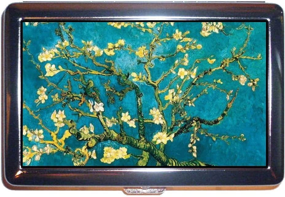 35% OFF Direct store Vincent Van Gogh Almond Blossom Art Cigare ID Steel or Stainless