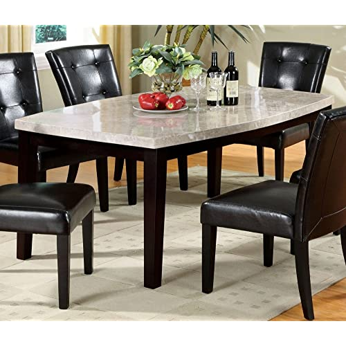 Marble Top Dining Tables Amazon Com
