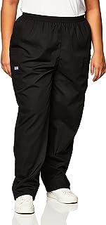Women's Workwear Elastic Waist Cargo Scrubs Pant