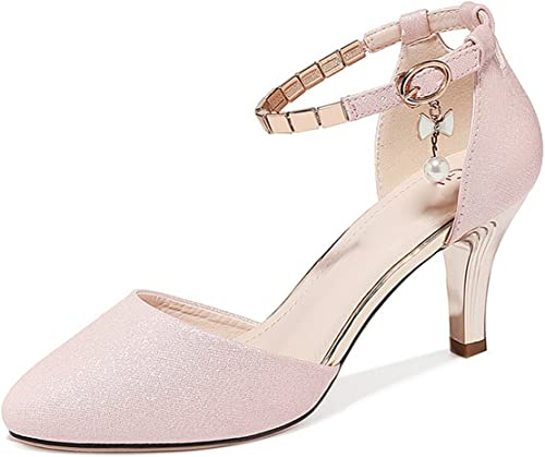GTVERNH-Chaussures pour Femmes Boucle des Chaussures pour Femmes Summer Sandales Baotou Sandales Creux Et Petites