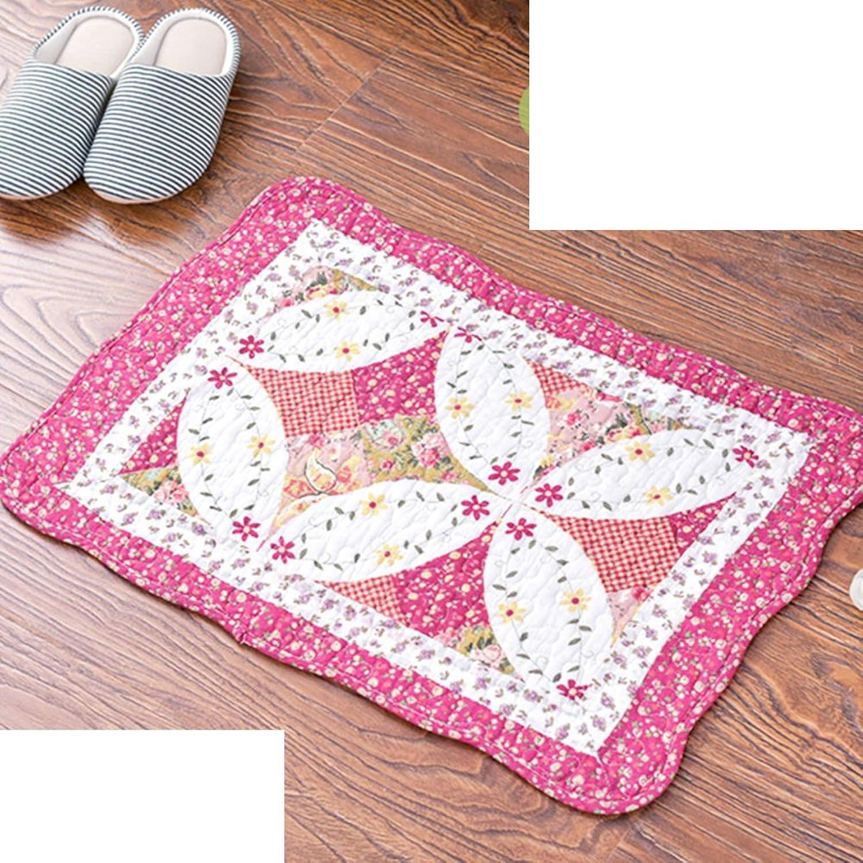 Cotton Mats For Household Use No-slipping Mat  Bathroom Mats-E 50x70cm(20x28inch)