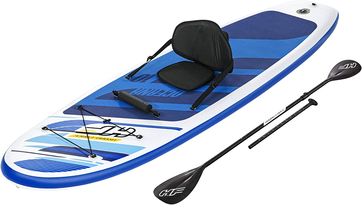 Bestway Hydro Force Oceana Inflatable 10 Foot Sale SUP Paddl Up Stand cheap