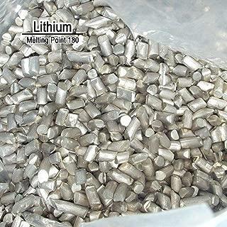BIG-DEAL 10 Grams High Purity 99.9% Pure Lithium Li Metal Element Sealed Argon