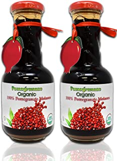USDA Organic Pomegranate Molasses (2 Pack)