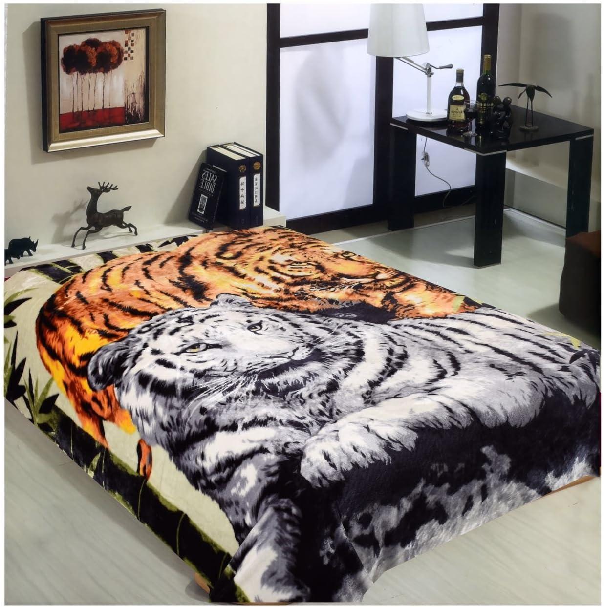 Tiger Blanket Mink Las Vegas Mall Korean Queen S Heavy Excellent Blankets