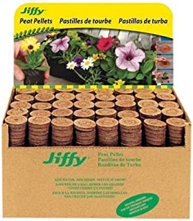 JIFFY 7 PEAT PELLETS-GARDEN SEED PLANT STARTER GROW PLUGS-GARDENING -36mm/42mm