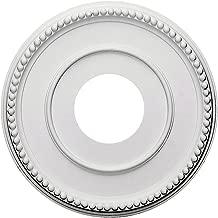 Ekena Millwork CM12BR Bradford Ceiling Medallion, 12 1/2