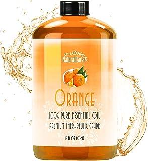 Best Sweet Orange Essential Oil (16oz Bulk Sweet Orange Oil) Aromatherapy Sweet Orange Essential Oil for Diffuser, Soap, B...