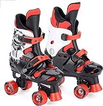 LXLTLB Patines en Línea para Adultos de una Hilera Zapatos Profesionales de Patinaje de Velocidad en Línea Fibra Carbono para Deportes al Aire Libre Fitness para Hombres Patines Ruedas,L(37/40)