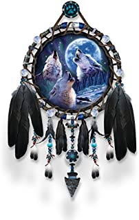 The Bradford Exchange Dreamcatcher Collector Plate: Wolf Songs