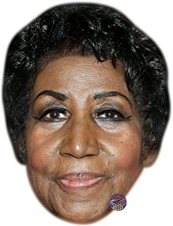Aretha Franklin Celebrity Mask, Card Face and Fancy Dress Mask