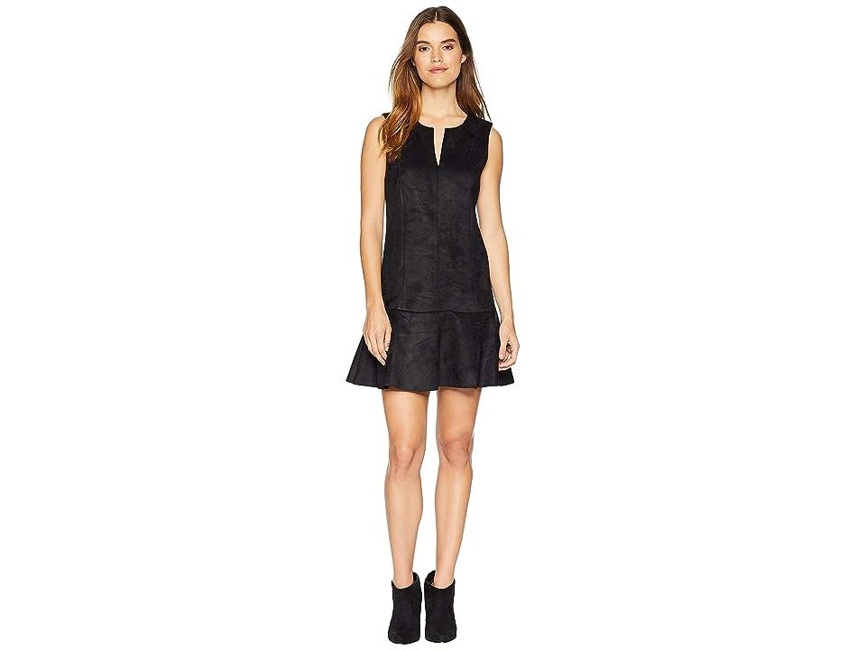 BCBGMAXAZRIA Flare Skirt Dress (Black) Women