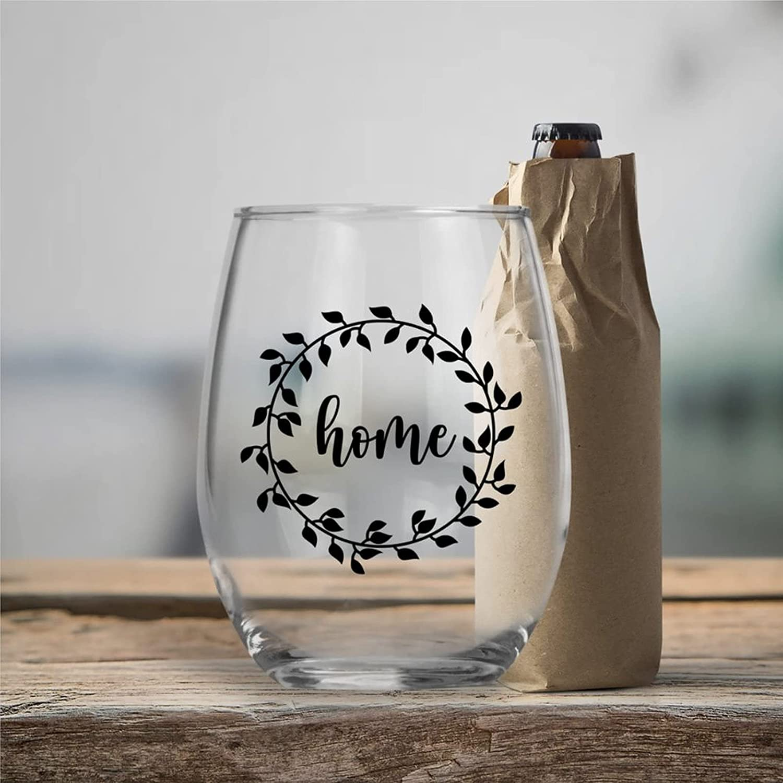 Houston Mall Home Crystal Stemless shipfree Wine Glass Whiskey Shot Gla Engraved