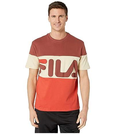 Fila Vialli T-Shirt (Mahogany/Chili/Cement) Men