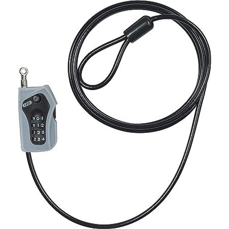 ABUS(アブス) ダイヤルロック ブラック 200cm コンビループ205 (205/200 Combiloop)
