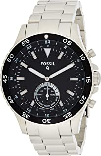Fossil Mens Quartz Watch, Analog Display and Stainless Steel Strap FTW1126
