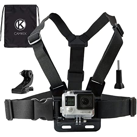 Campark ACT74 Campark X20 Action Cam Navitech Adjustable Shoulder Body Strap Harness Mount Holder Compatible with The Campark 4k WiFi Ultra HD Campark ACT68 Campark ACT76