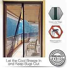 New Fly Screen Door Magnetic Door Door Cortina de malla Mantener a los insectos fuera Mosquito Screen Mesh Curtain Summer Essential (90 x 210cm),140 * 240cm