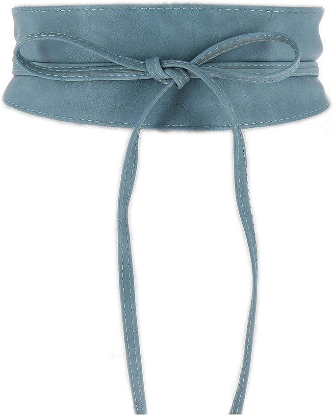 5402 opinioni per FASHIONGEN- Cintura Obi da donna, cintura Obi larga, similpelle in Poylurethane,