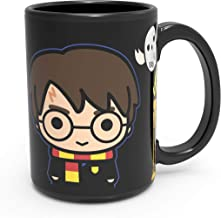 Zak Designs Harry Potter Unique Color Changing Ceramic Coffee Mug, Collectible Keepsake and Wonderful Coffee Mug (15oz, Harry Potter, BPA-Free)