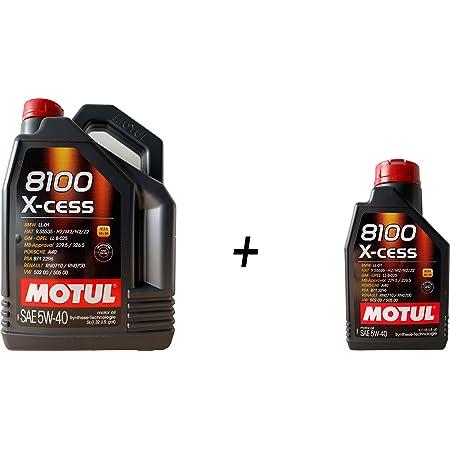 Motoröl Duo Motul 8100 X Cess 5w40 6 Liters 1 X 5 Lts 1 X 1 Lt Auto