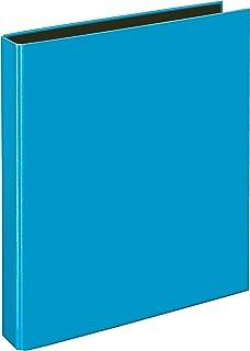 colore: blu scuro DIN A5 Veloflex 4156050/raccoglitore ad anelli Basic 4/Anelli a D