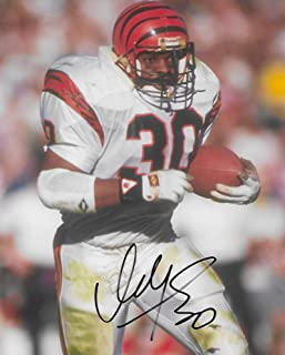 Ickey Woods, Cincinnati Bengals, signed, autographed, 8x10 photo, COA with proof photo.