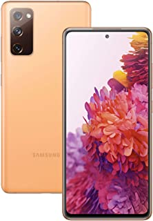 Samsung Galaxy S20 Fan Edition SM-G780F Dual-SIM 128GB Factory Unlocked 4G/LTE Smartphone (Cloud Orange) - International V...