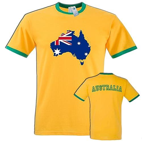 32196ff3687 New Australia Premium T Shirt - S M L XL 2XL - by Fonfella