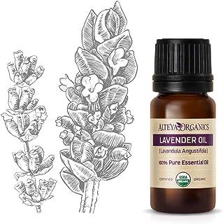 comprar comparacion Aceite esencial orgánico de lavanda (Lavandula angustifolia) marca Alteya, de 10ml. Con certificación ...