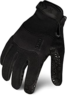 Ironclad EXOT-GBLK-03-M Tactical Operator Grip Glove, Stealth Black, Medium