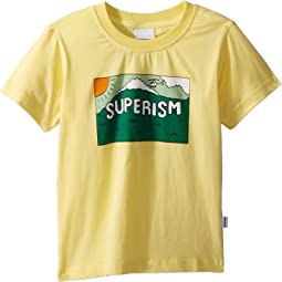 Superism Mountain Short Sleeve Tee (Toddler/Little Kids/Big Kids)