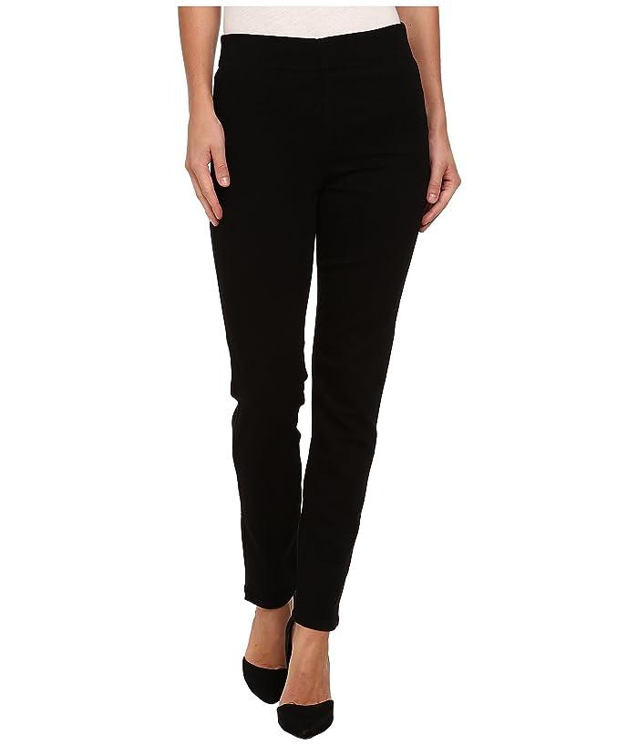 NYDJ Alina Pull On Ankle in Black (Black) Women's Jeans