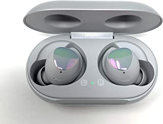 Samsung Galaxy Buds 2019, Bluetooth True Wireless Earbuds (Wireless Charging Case Included), (International Version) (Silver (Aura))