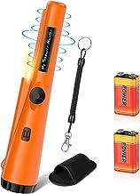 POVO Detectores de Metales Pinpointer con 2 Pilas Impermeable Portátil Herramientas para Buscar Oro Plata Monedas para Junior Niño Adultos