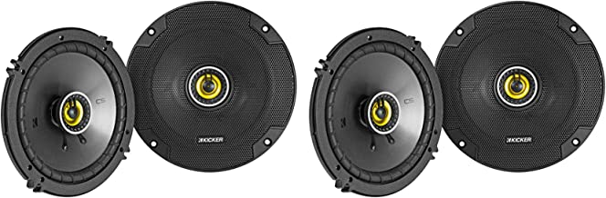 "$109 » (4) KICKER 46CSC654 CSC65 6.5"" 6-1/2"" 300w 4-Ohm Car Audio Coaxial Speakers"