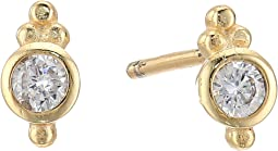 SHASHI - Ballerina Stud Earrings