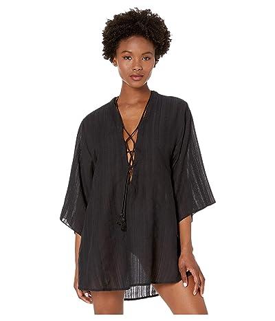 Robin Piccone Michelle Tunic Cover-Up (Black) Women