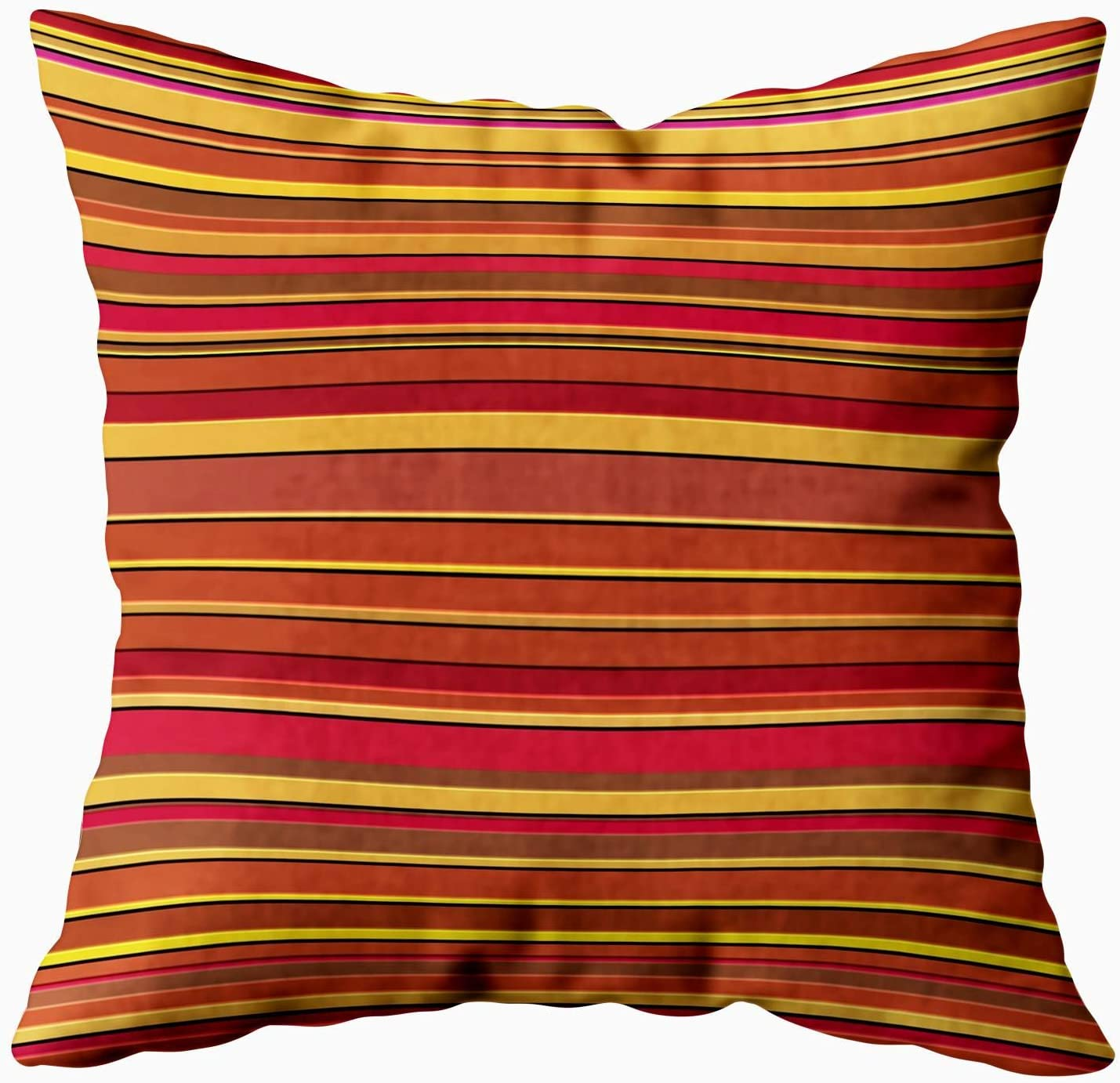 Douecish Boho Red Pillow Abstract Striped Background Line Design 3d Raised Texture Cool Fun Birthday Pinstripe Throw Pillow Covers Cushion Soft Home Sofa Decorative Throw Pillow Cases Home Kitchen
