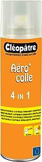 Cléopâtre ACP2504EN1 - Aéro'colle - Aérosol 4-en-1-250 ml Transparent 21 x 16 x 18 cm