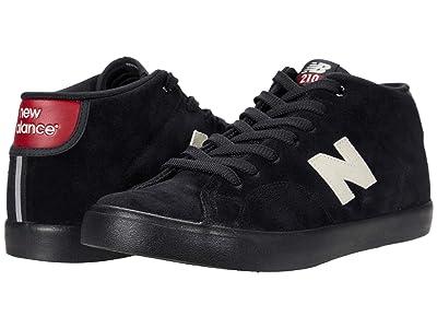New Balance Numeric 210 Mid (Black/Black) Shoes
