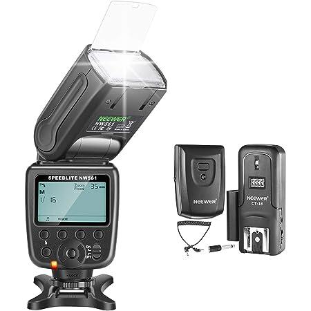 Neewer Nw 561 Gn38 Manuelles Lcd Display Speedlite Kamera