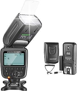 Neewer NW-561 GN38 Manuel LCD Display Speedlite Flash Kit pour Canon Nikon et autres appareils photo reflex numériques, Co...