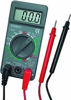 VELLEMAN DVM810 Digit Mini Digital Multimeter, 19 Ranges, 10 Amp Max, 3-1/2