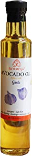 Neomega 100% Pure Cold Pressed Avocado oil (8 oz) and Neomega Roasted Garlic Infused Avocado oil (8 oz), Hi...