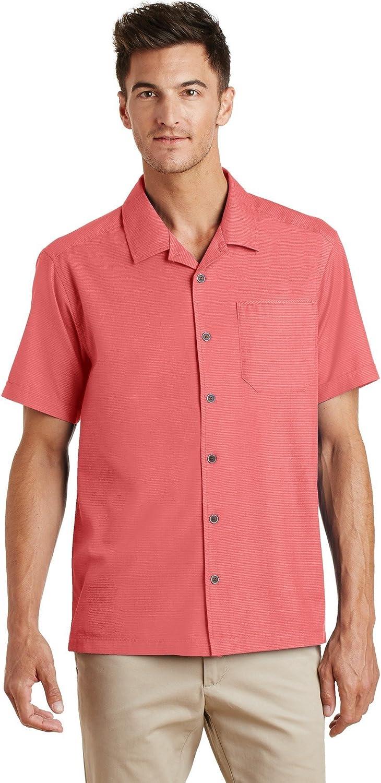 Port Authority Men's Textured Camp Shirt