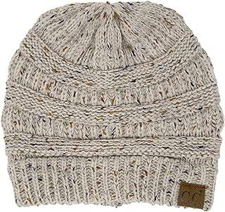 Confetti Knit Beanie - Thick Soft Warm Winter Hat - Unisex